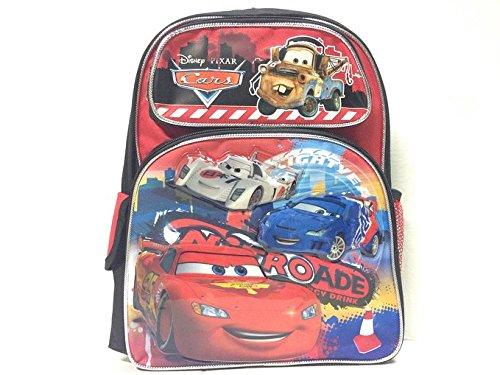 ディズニー ピクサー 95 ストップライトニングマックィーン カーズ 14インチ スクールバックパック -5263 B014JTXRY8