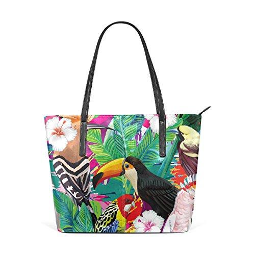 LIANCHENYI - Bolso de tela para mujer multicolor Talla única