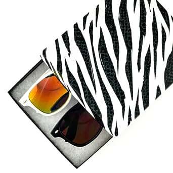 MJ Boutique's Vintage Retro Classic Style Sunglasses - 2 Pairs Gift Box