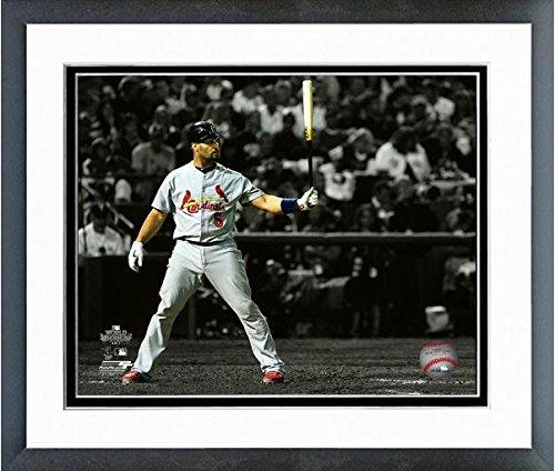 Albert Pujols St. Louis Cardinals World Series Spotlight Action Photo (Size: 12.5