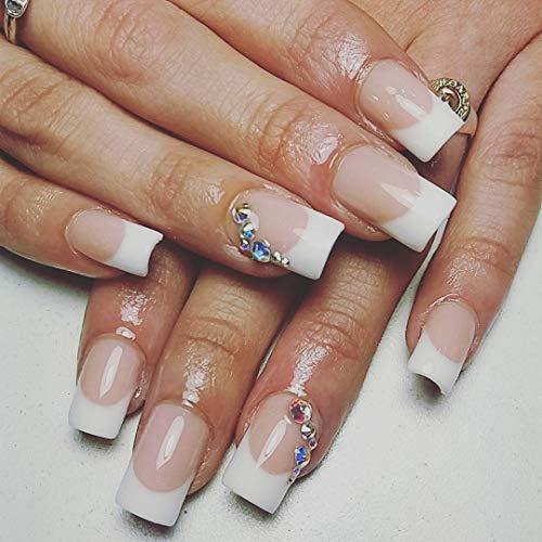 Buy white french nail tip