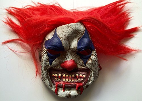 [Tim Curry Signed Stephen Kings IT Pennywise Clown Costume Mask PSA/DNA] (Wise Signed)