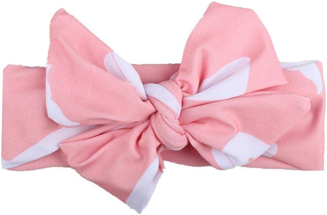 Xmiral Kinder Baby M/ädchen Kopf Zubeh/ör Polyester Stirnband Unisex Baby Elastische Bowknot Headwear Fotografie Requisiten