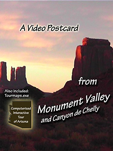 National Monument Postcard (A Video Postcard - From Monument Valley and Canyon de Chelly)