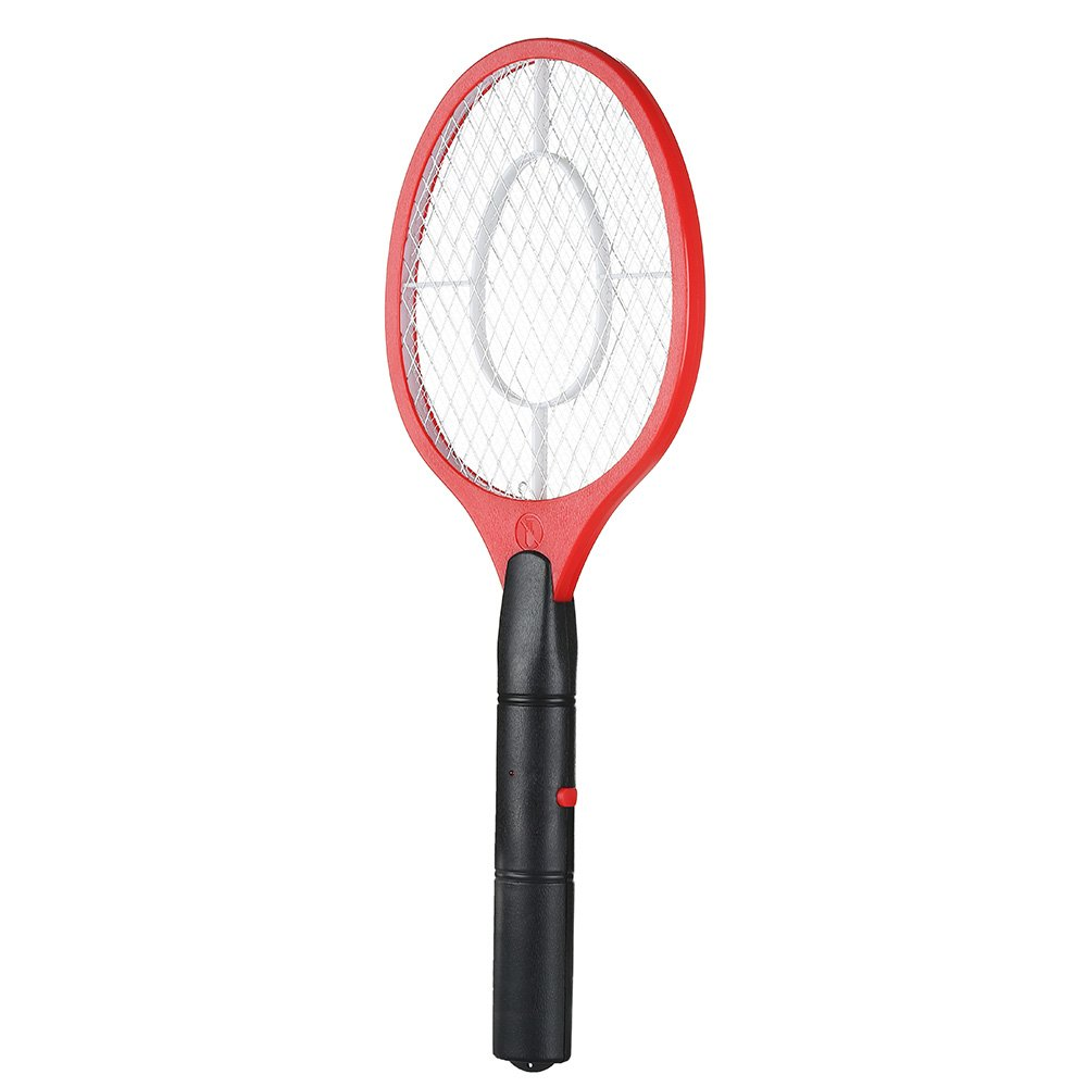 Electric Fly Swatter Handheld Electronic Swat Bug Mosquito Insect Wasp Zapper Killer Blue Littleduckling