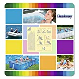 Bestway Flowclear 2.5 x 2.5 Inch Underwater Adhesive Repair Patches   62091E