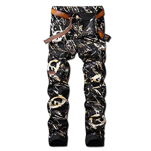 Dril Ropa Pantalones De Pantalones Los Regular Vaqueros Pantalones Elásticos Vaqueros Rectos Jeans Los Delgados 6 Denim Pretina Sin Midi Algodón Fit De Hombres del De ztza4xnUq