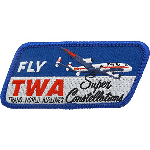 Aviation Collectibles International TWA Constellation Patch (Iron On Application)
