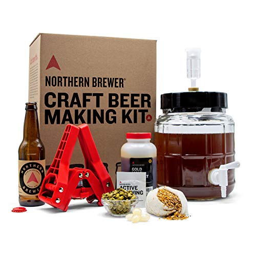 Northern Brewer - Siphonless 1 Gallon Craft Beer Making Starter Kit, Equipment and Beer Recipe Kit (Kama Citra IPA)