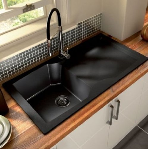 cooke & Lewis Silaro Spring Neck Tap: Amazon.co.uk: Kitchen & Home