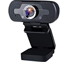 Innoo Tech Webcam 1080P Full HD Web Camera USB Desktop Laptop PC Webcam with Built-in Microphone USB Plug & Play for…