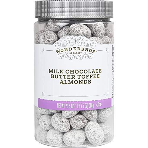 Wondershop Milk Chocolate Butter Toffee Almonds - 23.5 oz