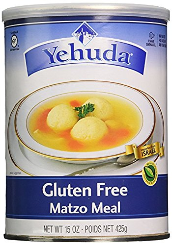 Yehuda Gluten Free Matzo Meal, 15 Ounce (Pack of (Matzo Meal)