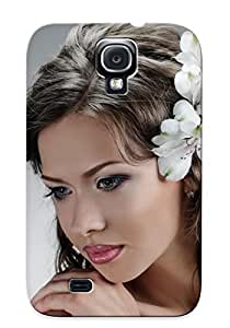 Podiumjiwrp VIcGwDk2877RcnSr Protective Case For Galaxy S4(bridal Hair ) - Nice Gift For Lovers