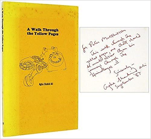 A Walk Through the Yellow Pages (Sun Lizard Chapbook, No 1)