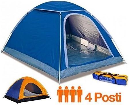 Qbcy - Tienda Canadiense Tipo iglú para Cuatro Personas, 200 x 200 x 135 cm: Amazon.es: Deportes y aire libre