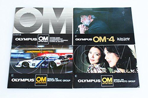 - OLYMPUS OM MANUALS SET OF 4 SYSTEM/OM-4/FLASH/MOTOR DRIVE