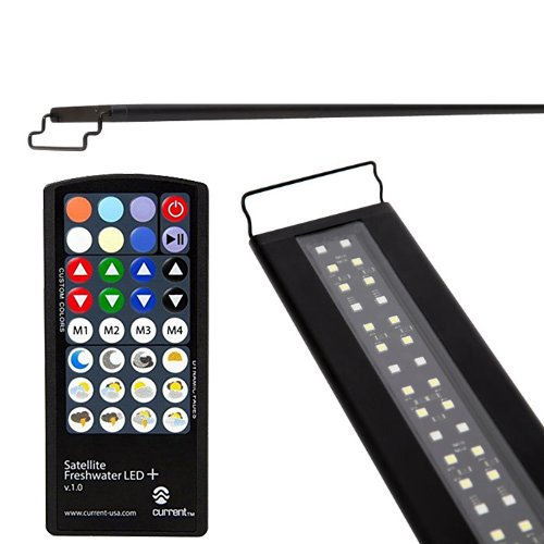 Current USA Satellite Freshwater LED Plus Light for Aquarium, 48 to - Legs Lighting Aquarium