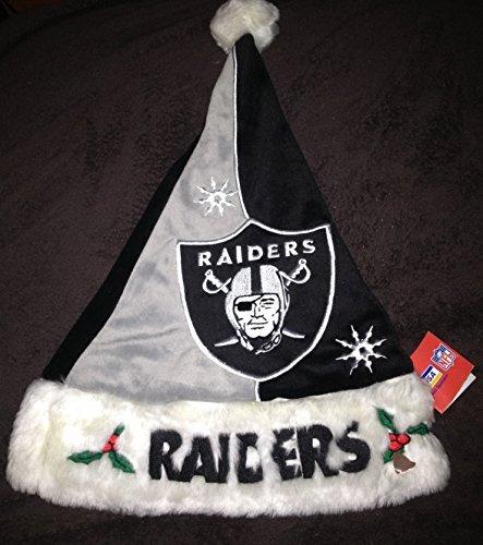 Oakland Raiders Santa Hat ()
