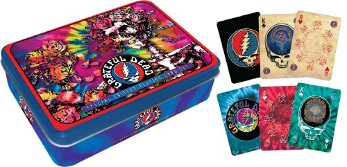 Grateful Dead Playing Card Gift Tin by Aquarius