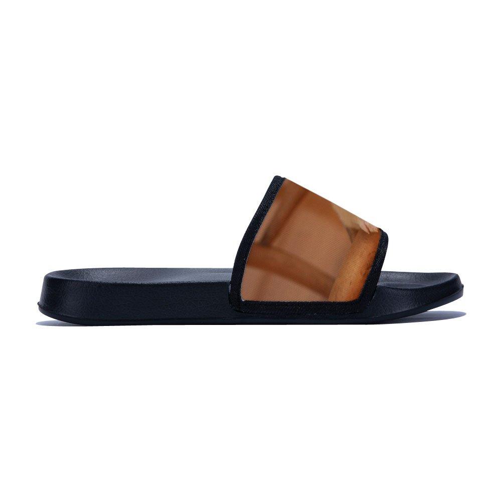 Slide Sandals for Men Outdoor Beach Spa Slide Sandals House Bath Shower Slippers