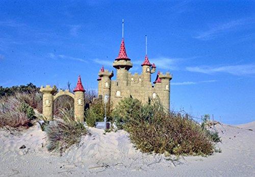 Roadside America Photo Collection | 1985 Castle 2, Jockey's Ridge Mini-Golf, Nags Head, North Carolina | Photographer: John Margolies | Historic Photographic Print 24in x 18in