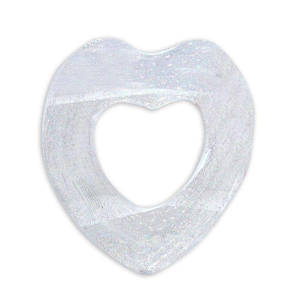 Coseyil Anillo de baño Hinchable en Forma de corazón Grueso ...