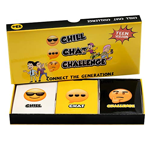 Fun Social Skills and Therapy Game for Adults and Teenagers: CBT Therapeutic Family Game for Meaningful Conversations…