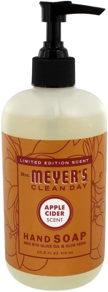 Mrs. Meyer's Liquid Hand Soap, Apple Cider, 12.5 OZ, (Pack - 3)