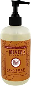Mrs. Meyer's Liquid Hand Soap, Apple Cider, 12.5 OZ, (Pack - 3)