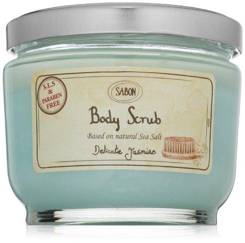 - SABON Body Scrub, Delicate Jasmine, 21.2 Oz