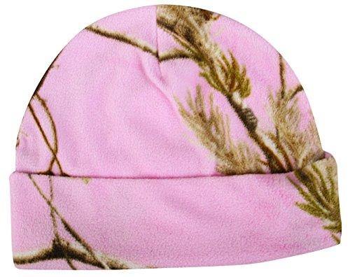 Outdoor Cap Fleece Ear Band, Realtree AP/Pink, One Size