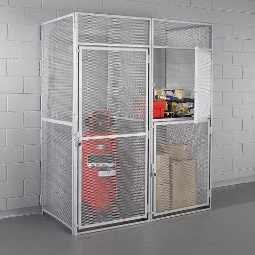 Hallowell Modular Single-Tier Storage Locker - 36X36x90