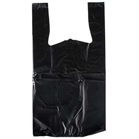 Amazon.com: 1/6 tamaño 1.18 mil negro liso en relieve bolsa ...
