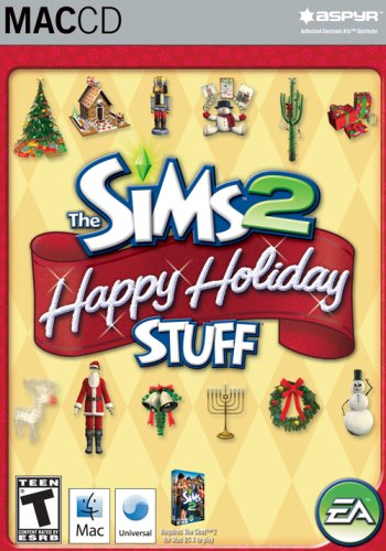 The Sims 2 Happy Holiday Stuff Pack - Mac ()