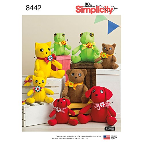 Simplicity Creative Patterns US8442OS Sewing Pattern Crafts, One Size
