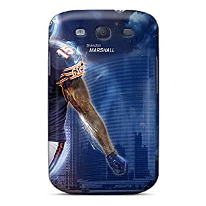 Unique Design Galaxy S3 Durable Tpu Case Cover Brandon Marshall 2013