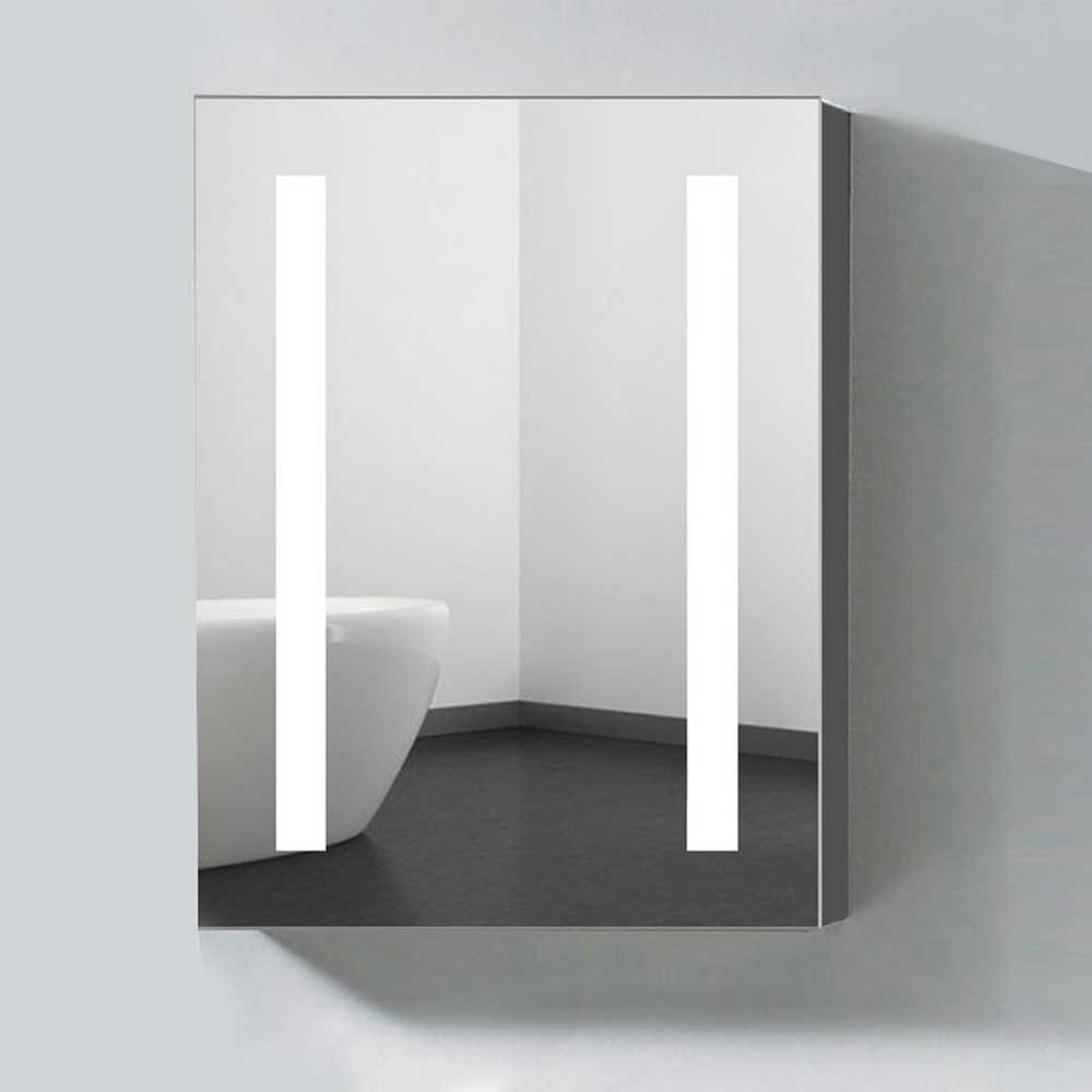 Beau Amazon.com: Decoraport 24 X 32 In. Vertical LED Lighted Mirror Cabinet Wall  Mount Illuminated Medicine Cabinet With Touch Button (A NS36): Home U0026  Kitchen