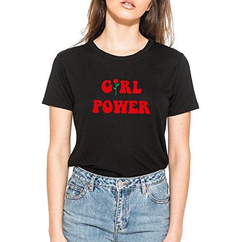 293153e03311 Minga London Girl Power T-Shirt Tee Top Women s Funny Tumblr Grunge  Feminist Slogan