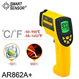 Professional Digital LCD IR Infrared Thermometer AR862A+ -50~900C