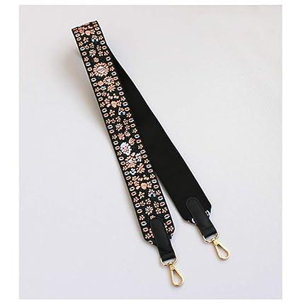 5CM Width Colorful Shoulder Straps Replacement Handbags Handles Belts Gold Buckle Hardware Purses Bag Accessories A