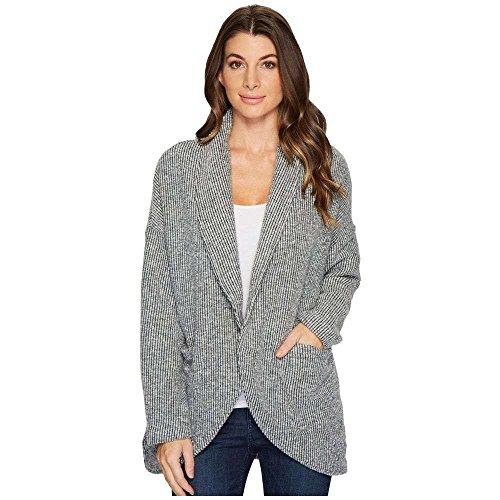 (モドオードック) Mod-o-doc レディース トップス カーディガン Corded Sweater Knit Shawl Collar Patch Pocket Cardigan [並行輸入品]
