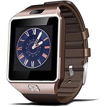 Amazon.com: ZRSJ Bluetooth Smart Watch Q18 Touch Screen with ...
