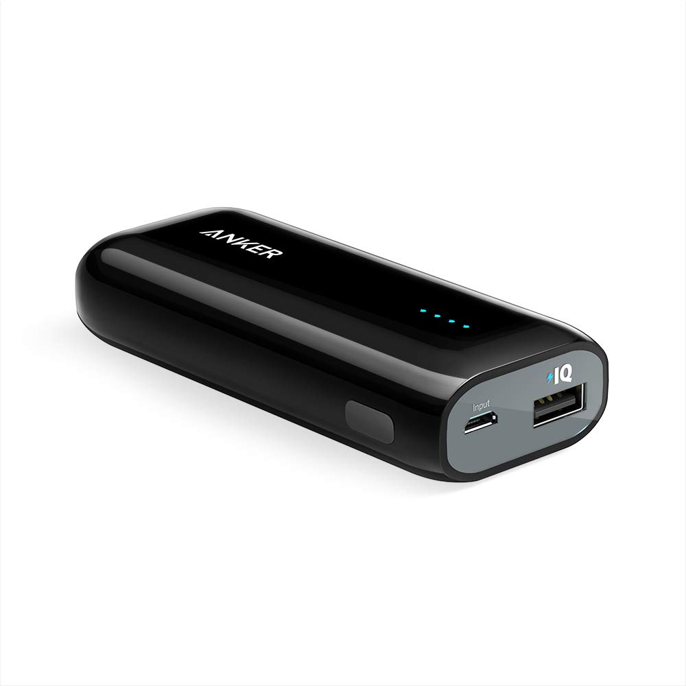 Anker [Upgraded to 6700mAh] Astro E1 Candy-Bar Sized Ultra Compact Portable Charger, External Battery Power Bank, with High-Speed Charging PowerIQ Technology by Anker