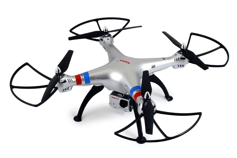 Amazon Com Syma X8g Headless 2 4ghz 4ch Rc Quadcopter With 8mp Hd