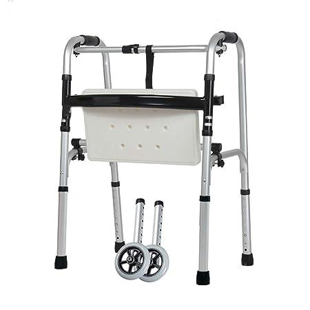 YMJJ Andador Ancianos, Andador Mayor de aleación de Aluminio ...