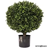 "24"" Tall 16"" Round Artificial Topiary Ball"