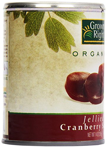 Grown Right Organic Jellied Cranberry Sauce, 16 oz by Grown Right (Image #7)