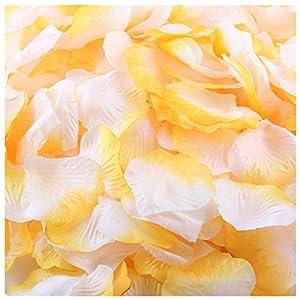 Outtop 1000pcs Multicolor Silk Rose Artificial Petals Wedding Party Flower Favors Decor 49