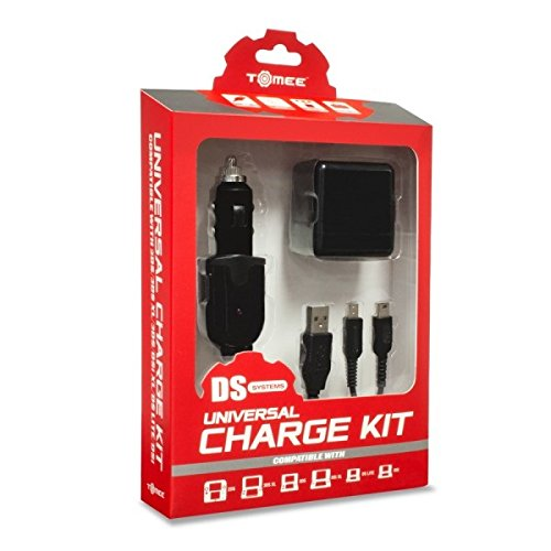 Tomee Universal Charge Kit for New 2DS XL/ New 3DS/ New 3DS XL/ 2DS/ 3DS XL/ 3DS/ DSi XL/ DSi/ DS Lite - Wholesale Nintendo Ds Lite